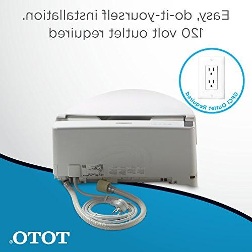 TOTO SW2024#01 A200 Electronic with Elongated, Cotton