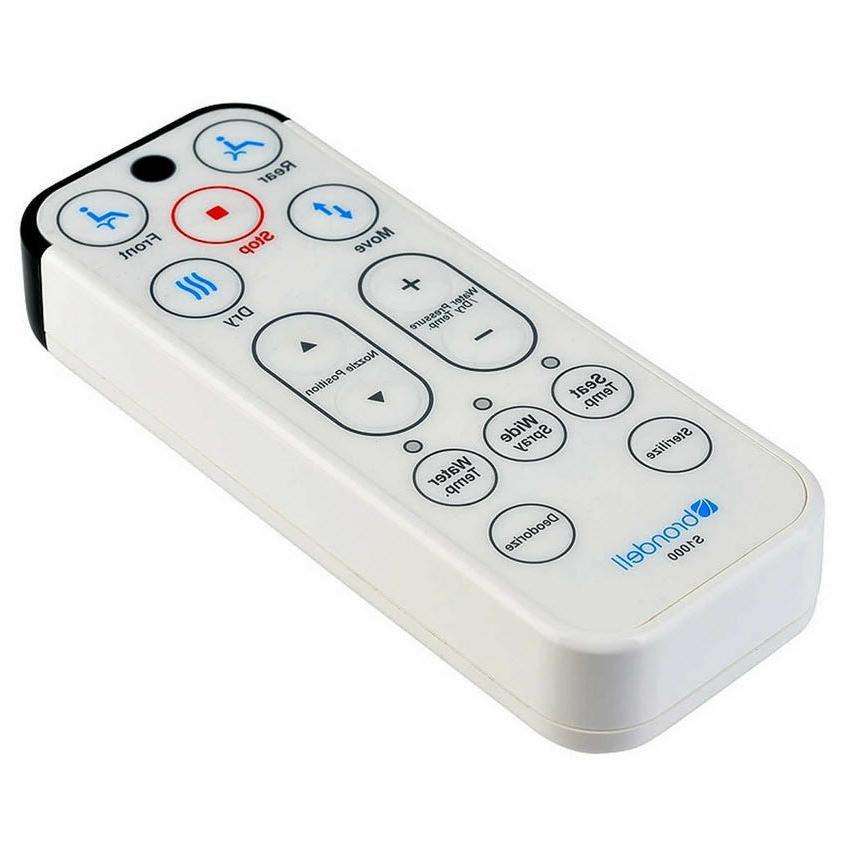 Brondell 1000 Toilet Seat white s1000 Remote.