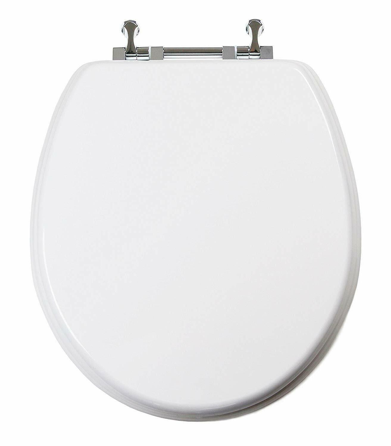 TinyHiney Toilet Seat, w/Chromed Metal Hinges