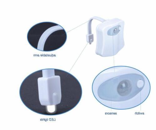 Toilet Night Light PIR Motion Seat Lights