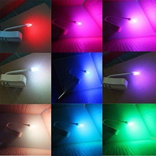 Toilet Light PIR Motion Seat Sensor 8 Colors Lights