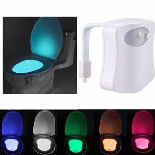 toilet bathroom led night light pir motion