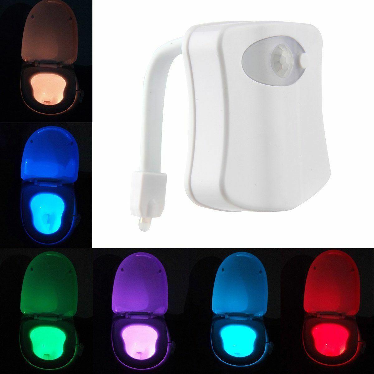 Color LED Sensor Lamp Bowl