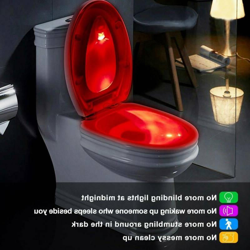 Toilet Night Light LED Mo-tion Bathroom