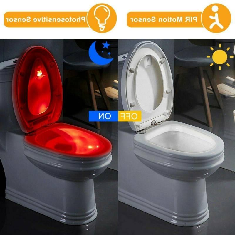 Toilet Light Mo-tion Bathroom Seat