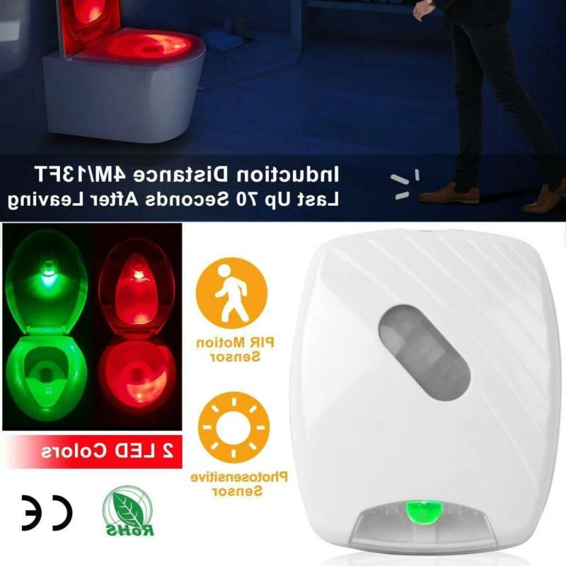 toilet night light led mo tion activated