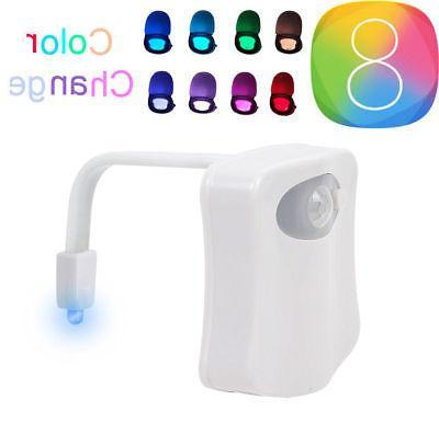 Toilet Night Sensing 8 Color