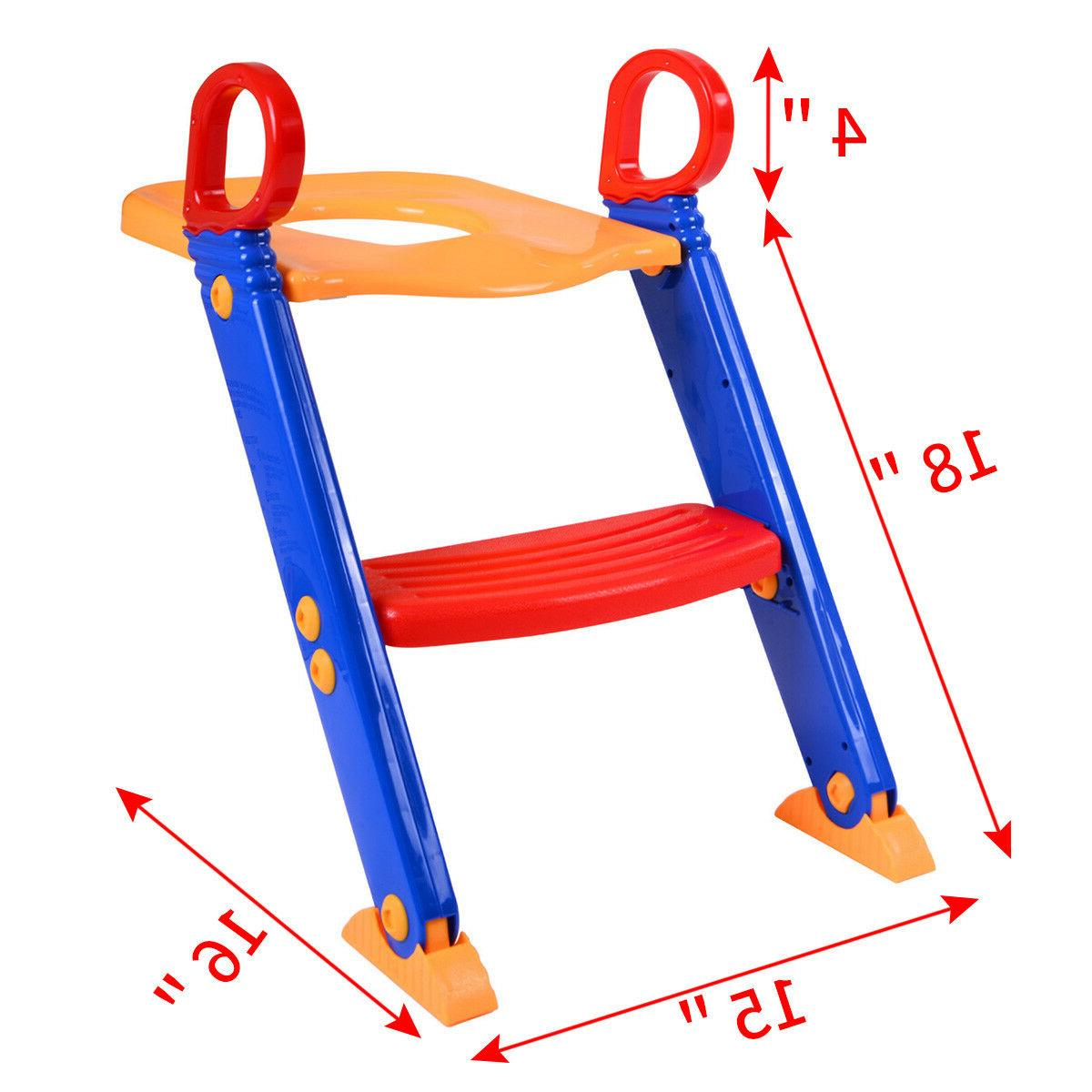 Trainer Potty Seat Chair Kids Ladder Stool