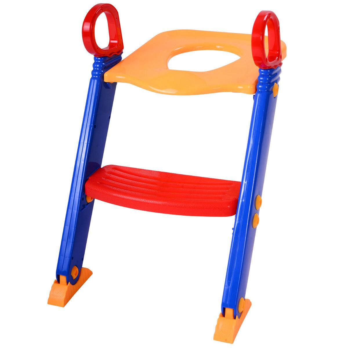Trainer Potty Chair Toddler With Ladder Stool