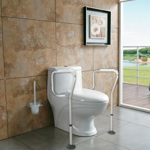 Toilet Safety Frame Bathroom Grab Bars Seat Medical Support