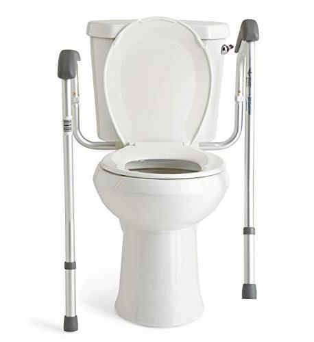 Medline Toilet Safety Toilet with Adjustable,