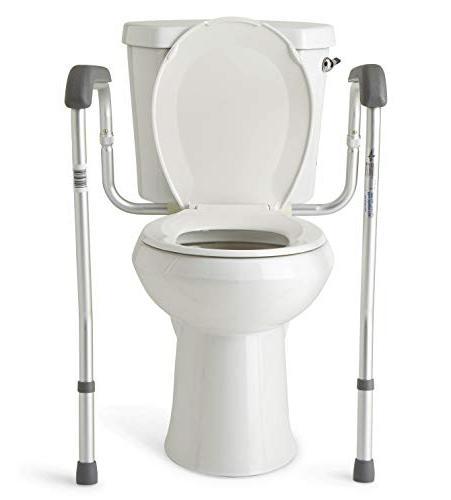 Medline Safety Frame Toilet with Easy Adjustable, Bathroom
