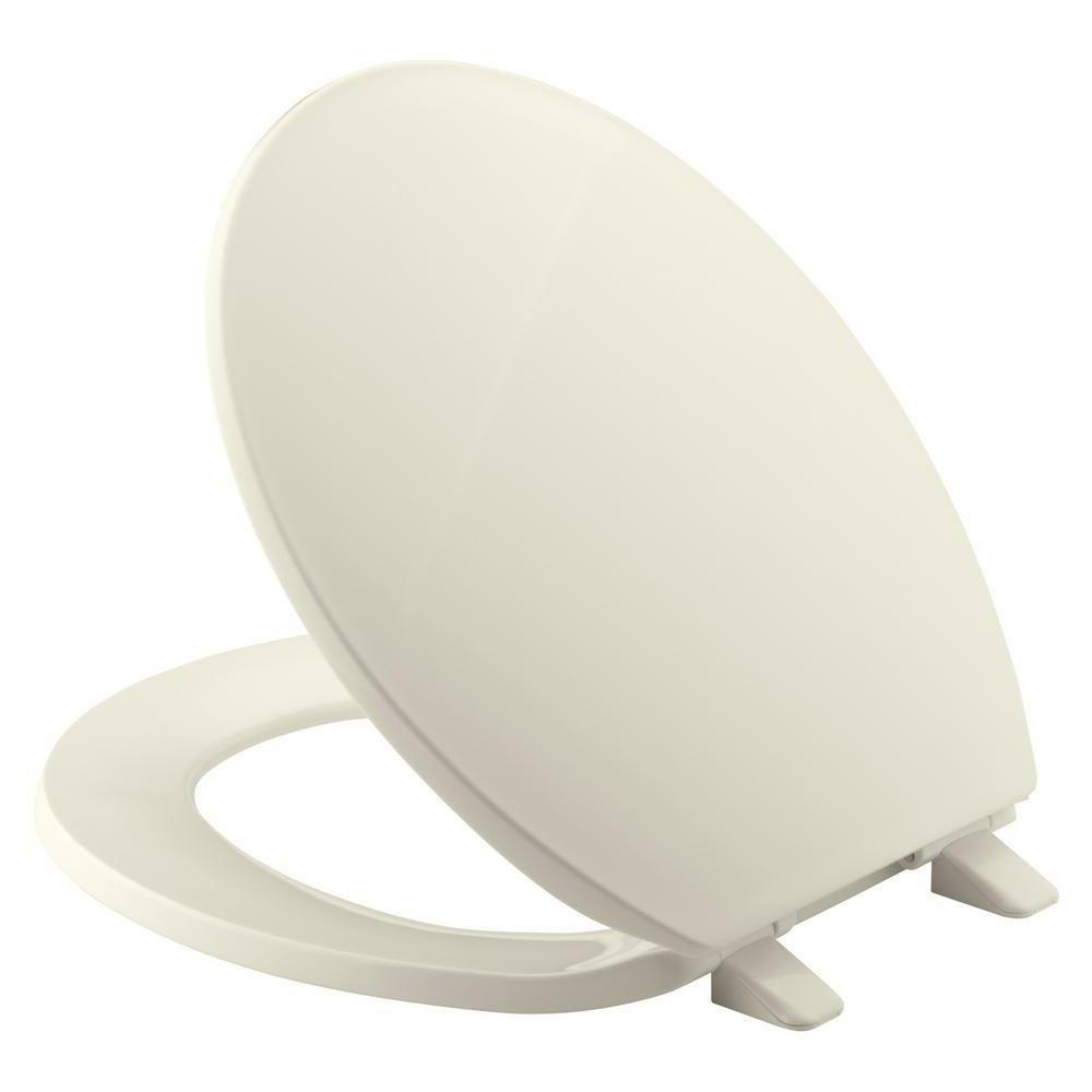 toilet seat brevia round front wi quick
