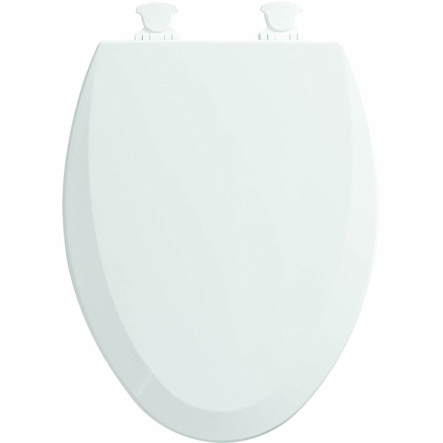 Bemis Toilet Elongated Close Front With White
