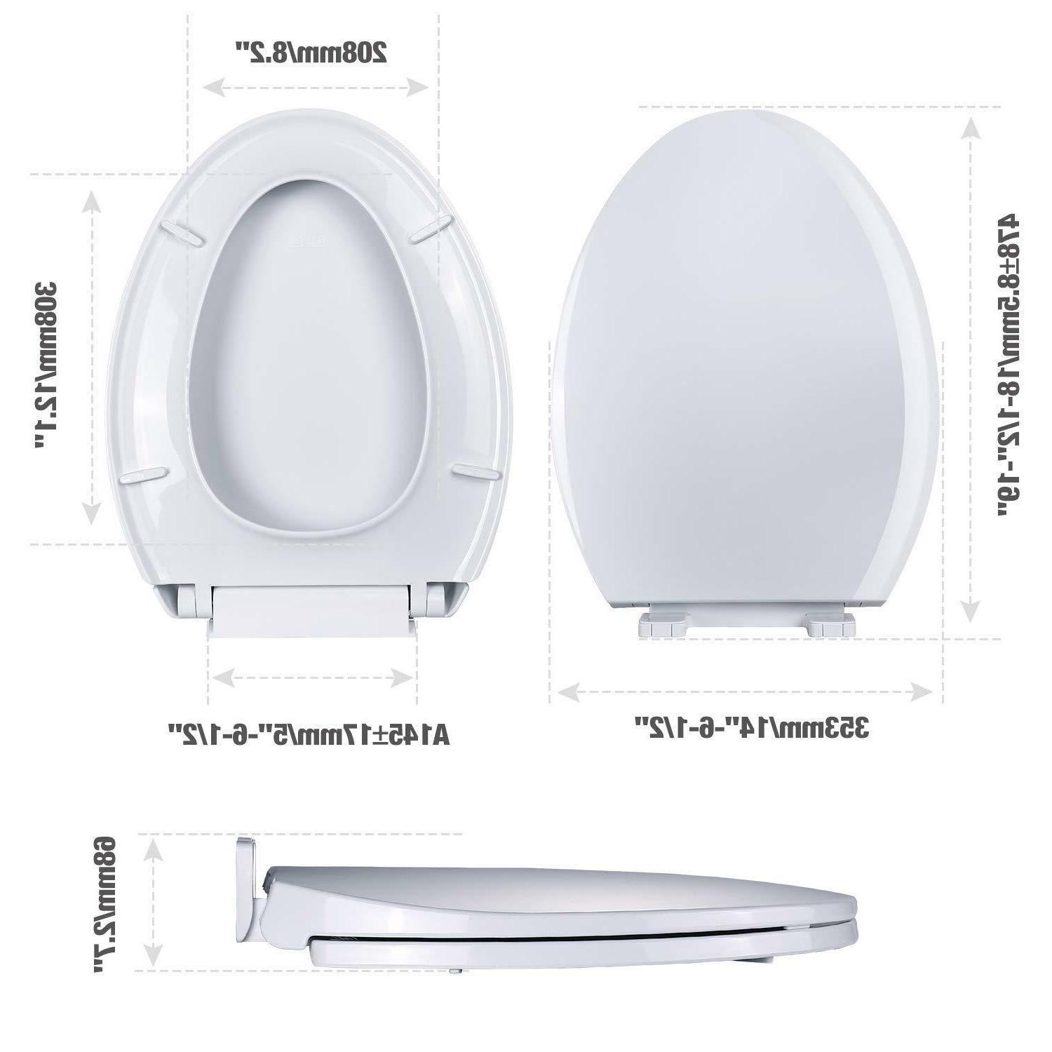 Toilet Toilet Seat Metal Soft