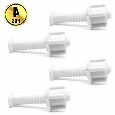 BTNOW Bolt and Universal Plastic Seat Bolts, of 4