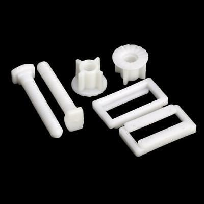 1Pair Toilet Seat Bolts Screw Fitting Kits Tools