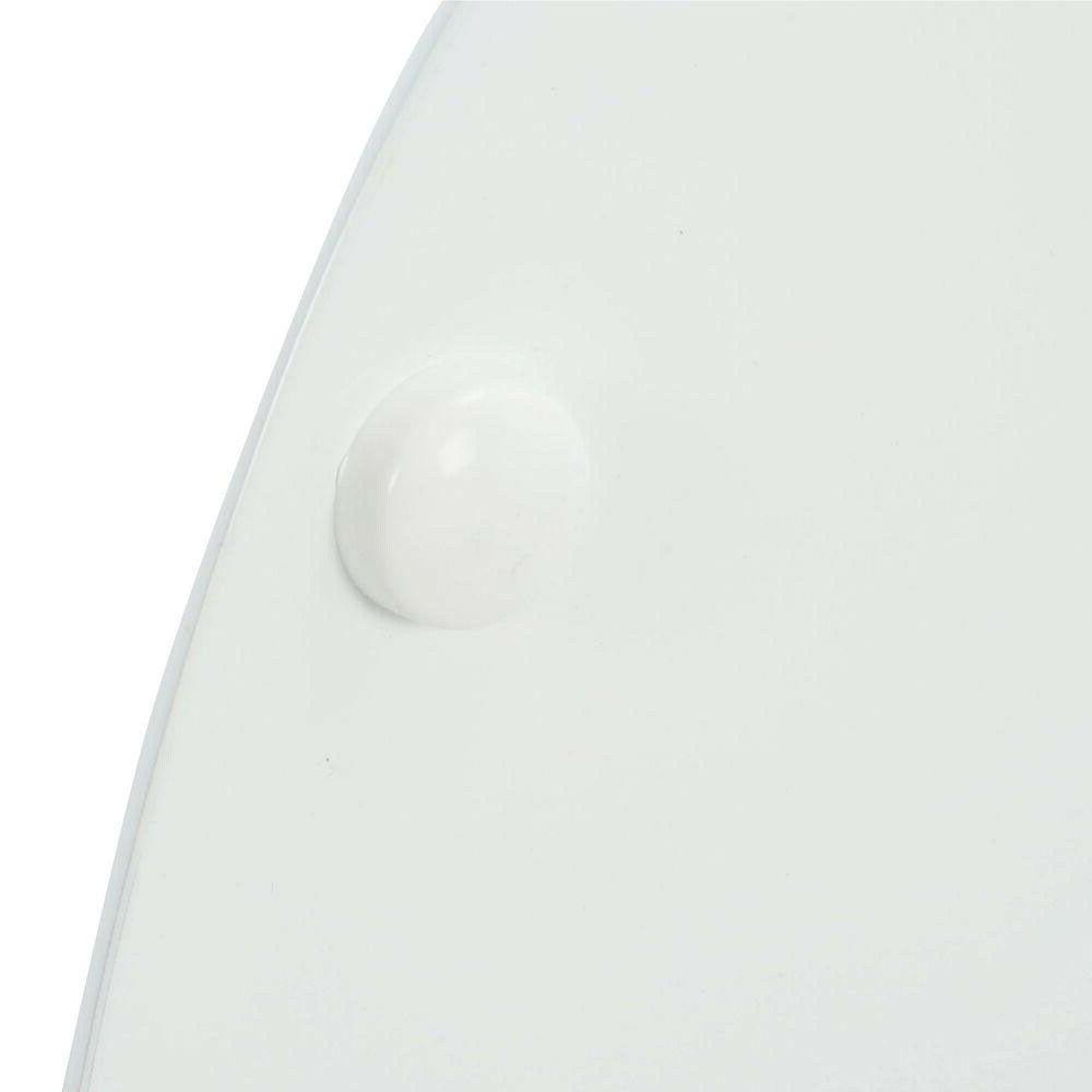 TOILET SEAT REPLACEMENT White Wood Seat