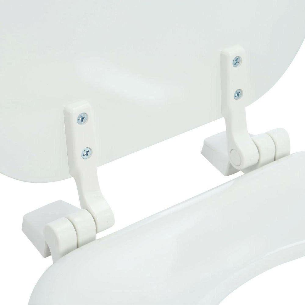 TOILET REPLACEMENT White Closed Wood Hinges