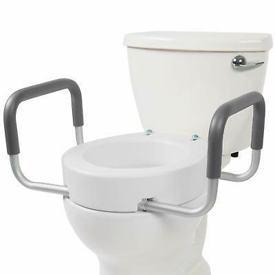 Enjoyable Vive Toilet Seat Riser With Handles Raised Pdpeps Interior Chair Design Pdpepsorg