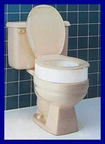 Toilet Seat Raised Height Assistance
