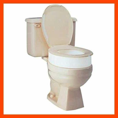 toilet seat riser elongated raised adds 3