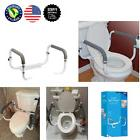 Toilet Seat Safety Rails Medical Support Grab Bars Aids Hand