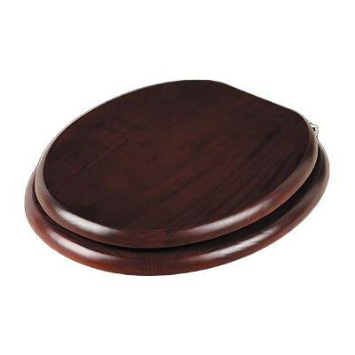 toilet seats cherry fin hardwood