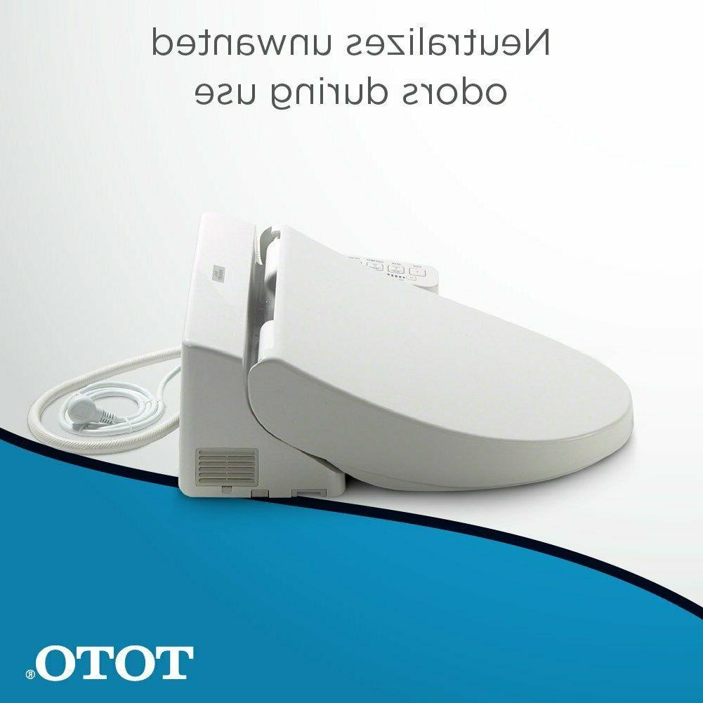 TOTO Electronic Bidet Toilet Seat with PreMist Elongated