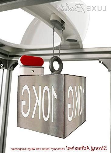 LUXE Bidet Universal Toilet Seat Kit, Adhesive
