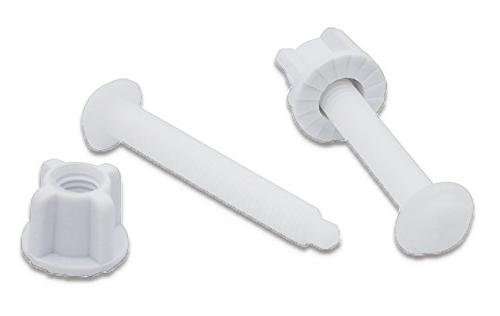 universal white plastic toilet seat
