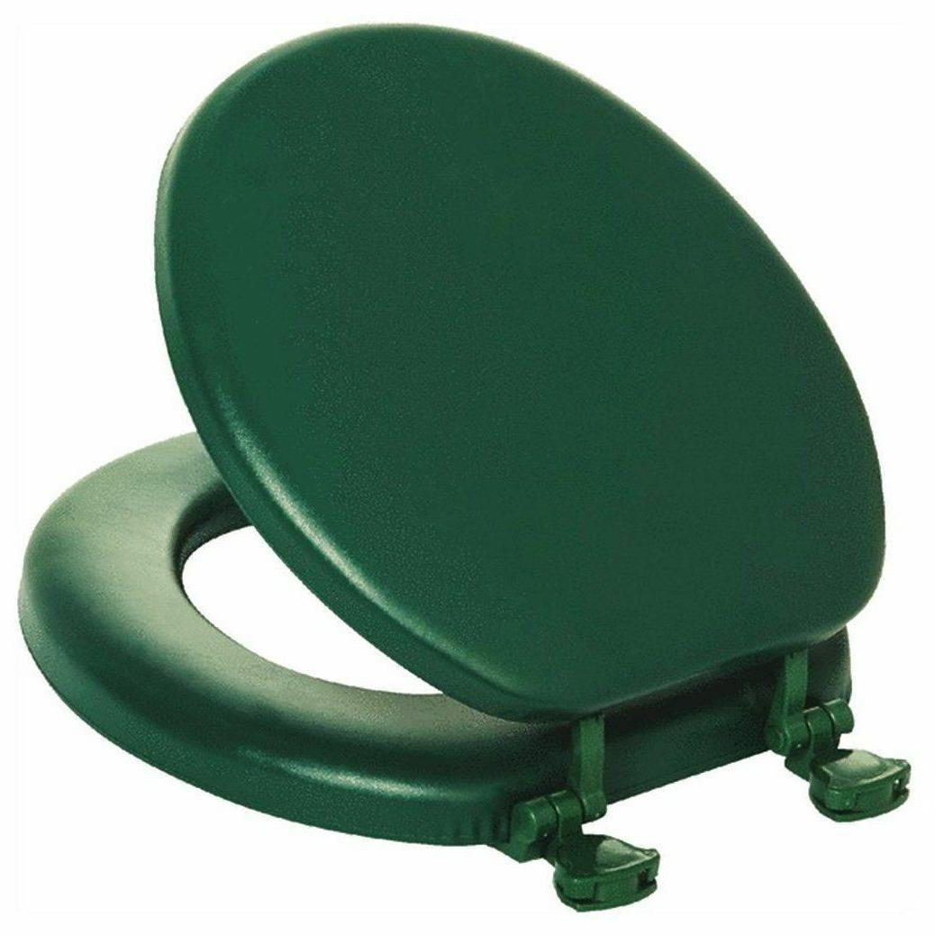 Mayfair Cushioned Toilet Seat Round Rain Forest