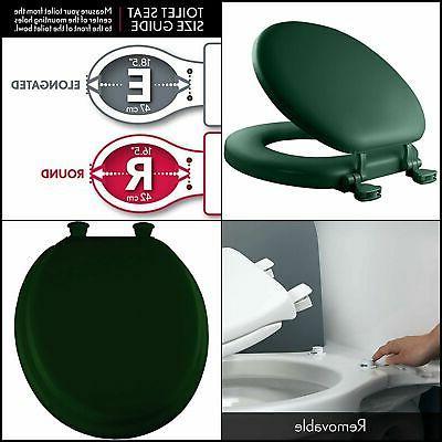 vinyl slow close cushioned toilet seat round