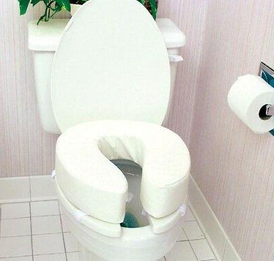 vinyl toilet seat cushion