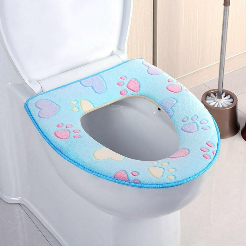 Bathroom Seat Closestool Washable Cover