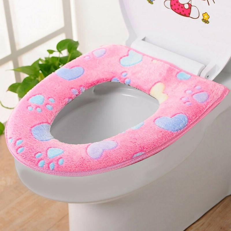 Bathroom Seat Cloth Closestool Lid Top Cover
