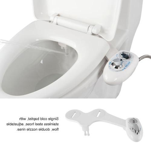 Water Spray Self-Cleaning Non-Electric Toilet Seat