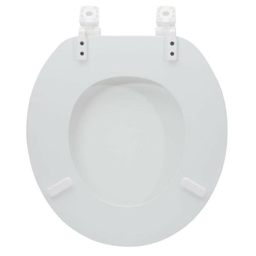 Project White Round Seat Lid Durable Free Shipping