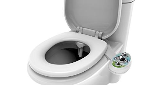 Zen and Components Two Bidet Toilet Self nozzles Ceramic | Water Bidet Kit