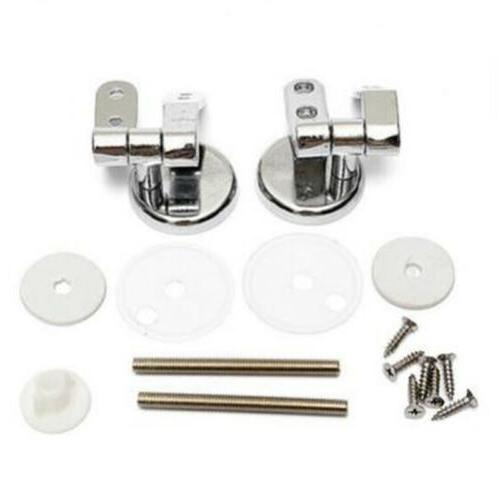 universal chrome on metal replacement toilet seat