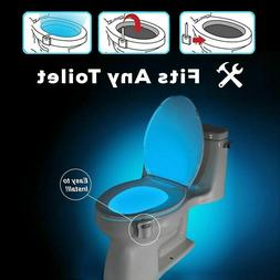 LED Toilet Night Light  Activated Sensor Bowl Seat Sensor Ba