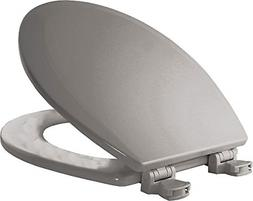 Lift-Off Round Closed Front Toilet Seat With Easy Clean&Chan