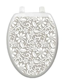 Lovely Lace Toilet Tattoo TT-1089-O Elongated
