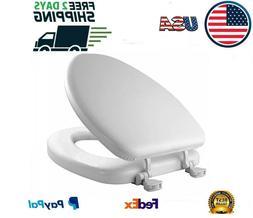 Mayfair 113 000 Deluxe Soft Elongated Toilet Seat HERGONOMIC