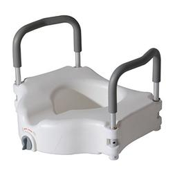 HomCom Medical Raised Toilet Seat Riser with Lock and Remova