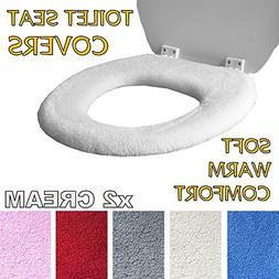 Medipaq Toilet Seat Cover - Super Warm Fleece - Retaining Ri