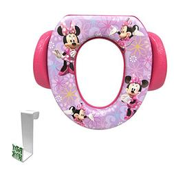 Minnie Mouse Soft Potty Seat with Toilet Tank Potty Hook