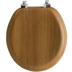 Bemis Natural Reflections Wood Round Toilet Seat