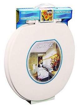 NEW Aqua Plumb Aqua Plumb CTS90BO Round Plastic Toilet Seat
