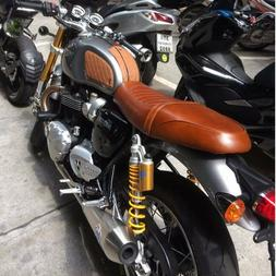Real Leather SEAT TRIUMPH THRUXTON RGel Comfort Stitching